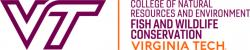 Virginia Tech, Fish and Wildlife Conservation
